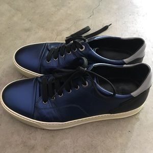 Lanvin Italian leather men shoes